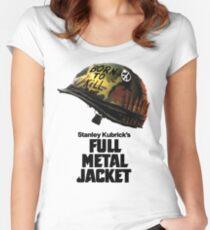 Stanley Kubrick's Full Metal Jacket Fitted Scoop T-Shirt