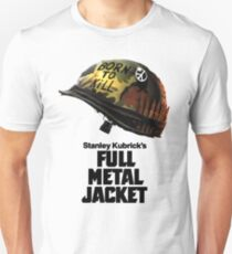 Stanley Kubrick's Full Metal Jacket Slim Fit T-Shirt