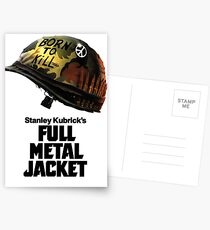 Stanley Kubrick's Full Metal Jacket Postcards