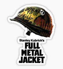 Stanley Kubrick's Full Metal Jacket Sticker