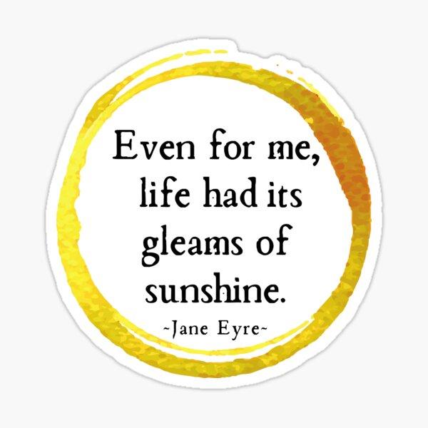 Gleams of Sunshine II Sticker