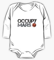 Occupy Mars - Space Planet - SpaceX One Piece - Long Sleeve