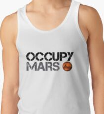 Occupy Mars - Space Planet - SpaceX Men's Tank Top