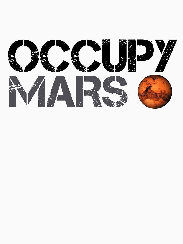 Occupy Mars - Weltraumplanet - SpaceX von teedesiigner
