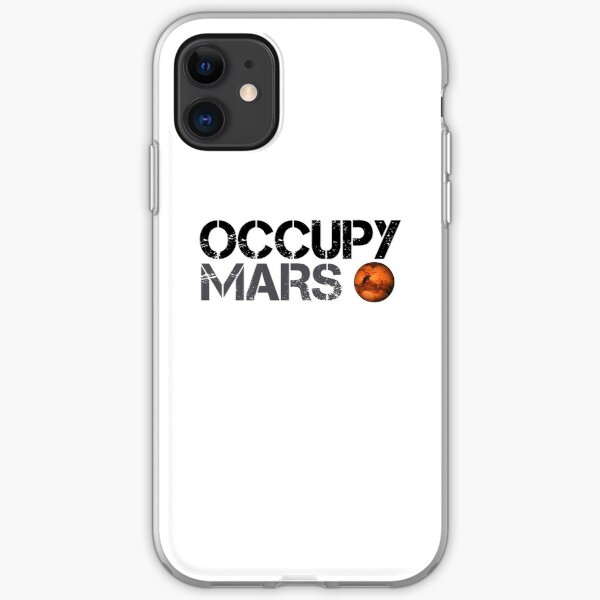 Occupy Mars - Space Planet - SpaceX iPhone Soft Case