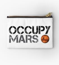 Occupy Mars - Space Planet - SpaceX Studio Pouch