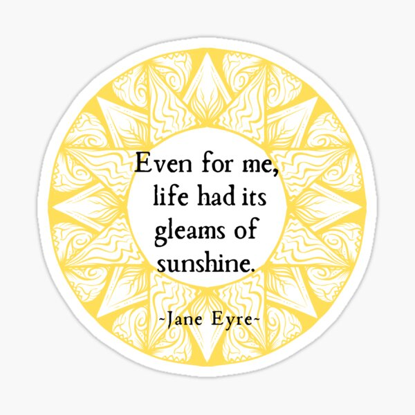 Gleams of Sunshine III Sticker