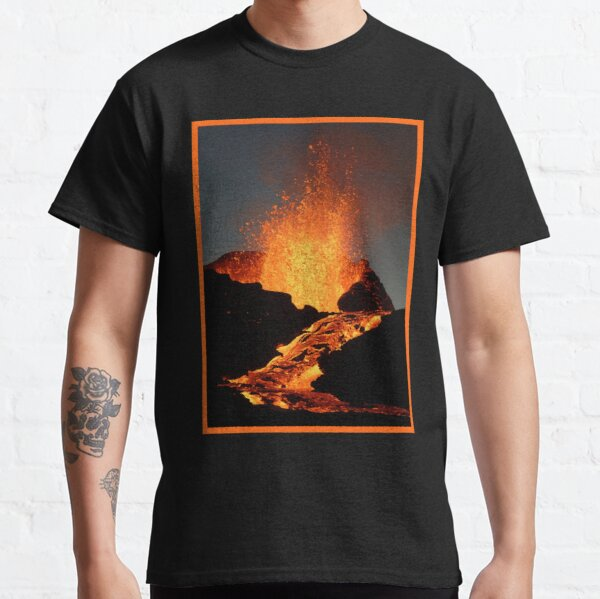 fagradalsfjall iceland 2021 Classic T-Shirt