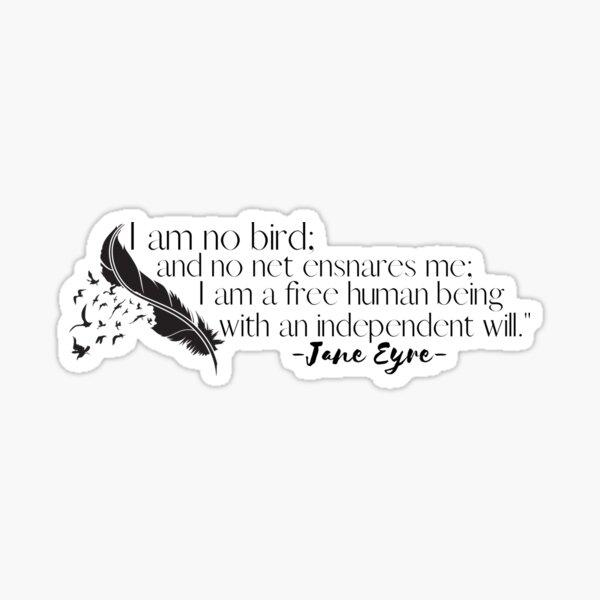 I Am No Bird Sticker