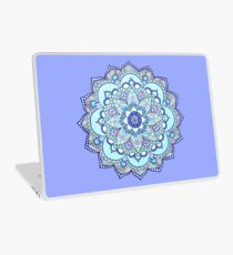 Blue mandala Laptop Skin