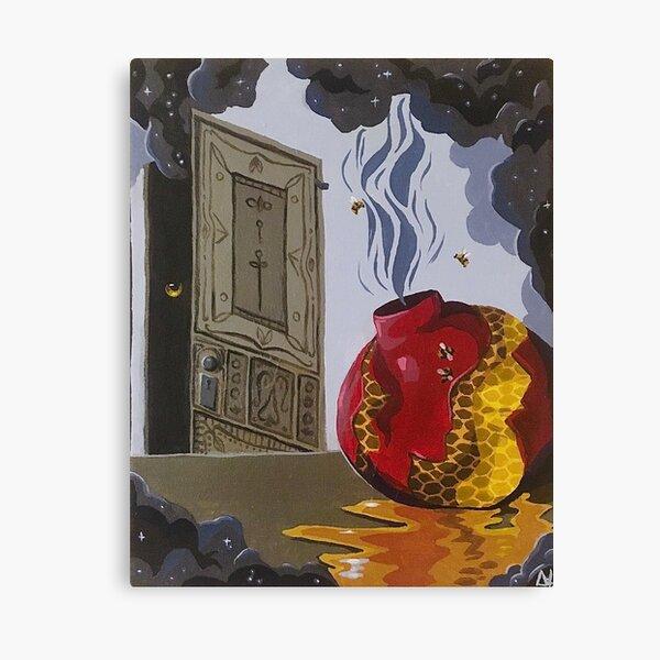 Pomegranate Door Canvas Print