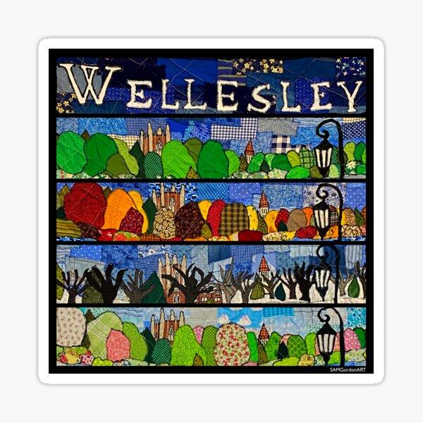 Wellesley 4 Seasons (square) Sticker