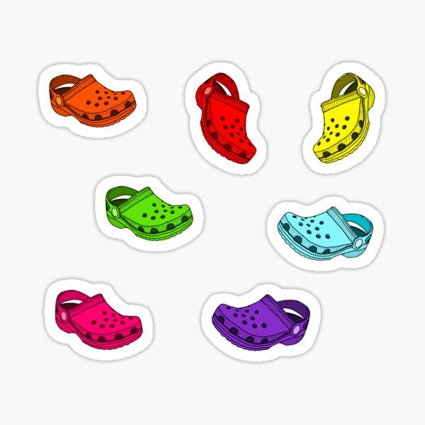 many crocs stickers pack!! Sticker