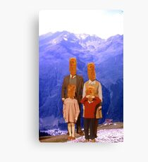 family multipack Canvas Print