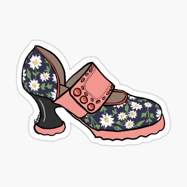 Fluevog Zaza Daisy Shoe Sticker
