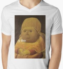 Y Tho Men's V-Neck T-Shirt