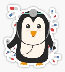 Penguin doctor   Sticker