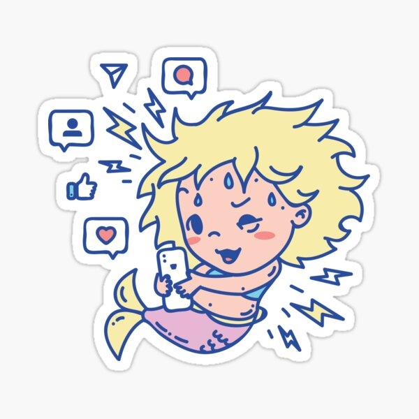 Obsessed Mermaid Sticker