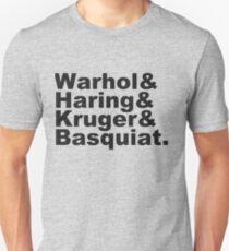 Warhol & Haring & Kruger & Basquiat - Beatles Unisex T-Shirt