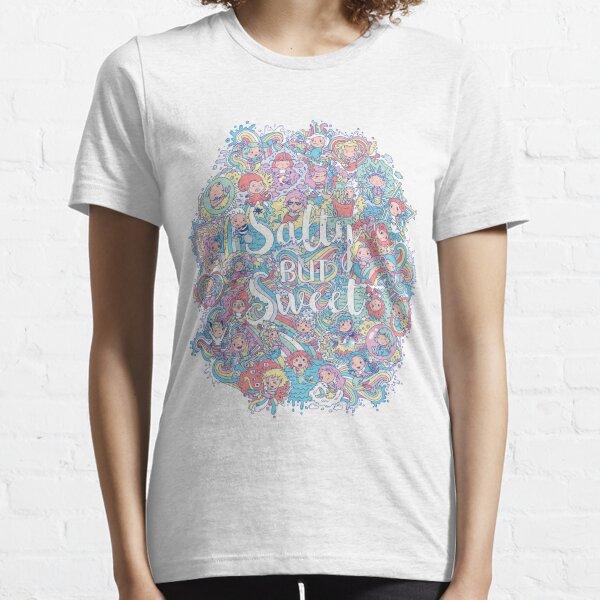Salty but Sweet Ultimate mermaid design Essential T-Shirt
