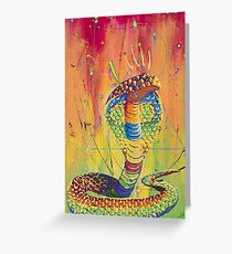 The Universal King Cobra Greeting Card