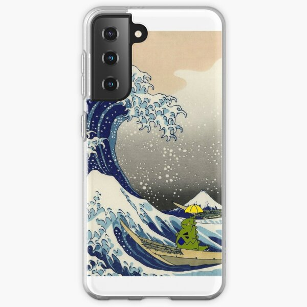 The Great Wave of Tyranitar Samsung Galaxy Soft Case
