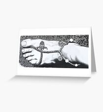 Touching Earth Greeting Card