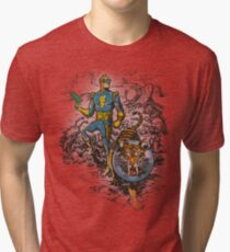 Calvin: The Spiffy Spaceman Tri-blend T-Shirt