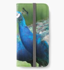 Peacocks in the Park iPhone Wallet/Case/Skin