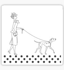 Ladies on Parade Sticker