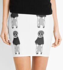 Greyscale cutie Mini Skirt