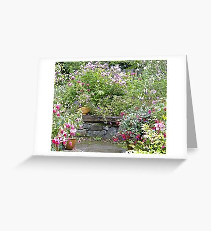 quiet space Greeting Card