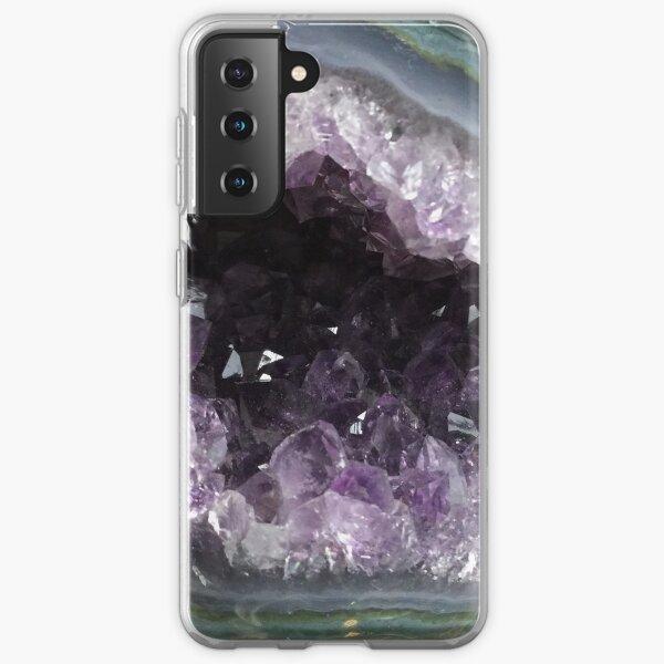 Amethyst Geode Samsung Galaxy Soft Case