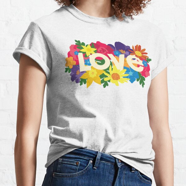 Pride Floral Love Classic T-Shirt
