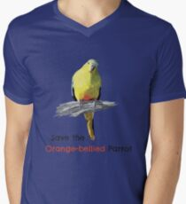 Orange-bellied Parrot products (light background colours) T-Shirt