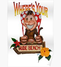 Spanx The Monkey Poster