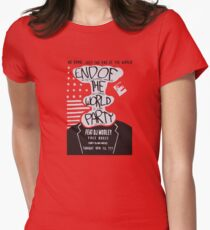 Mr. Robot End of the World Party Tee Women's Fitted T-Shirt