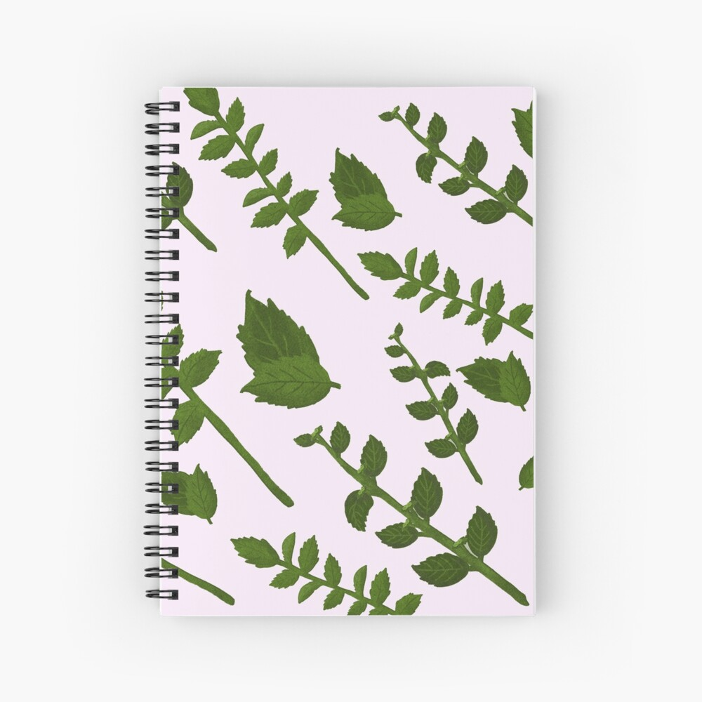 Minty Pastels Paper Spiral Notebook