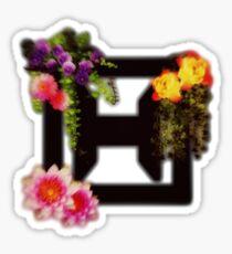Floral HeXik Logo Sticker
