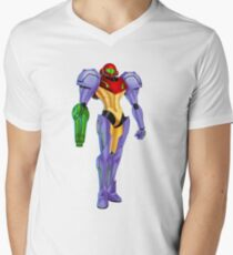 Samus Gravity Suit Men's V-Neck T-Shirt