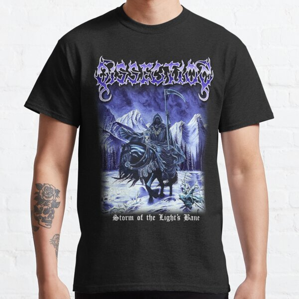 Dissection - Storm of the Light's Bane Classic Old School Swedish Black Metal Classic T-Shirt