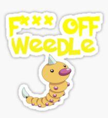 F*** off Weedle Sticker