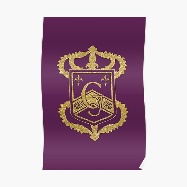 Genovia Crest Gold The Princess Diaries Poster