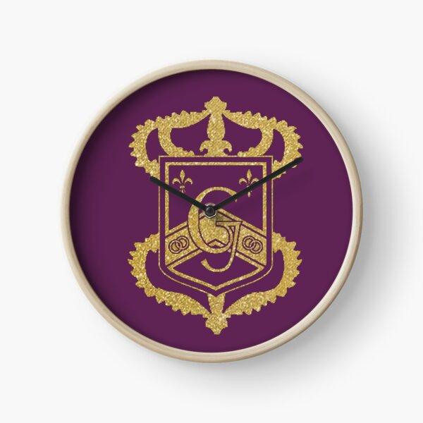 Genovia Crest Gold The Princess Diaries Clock