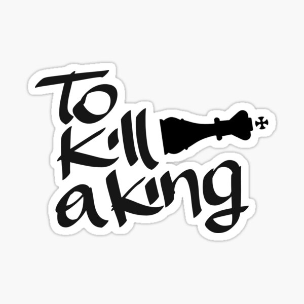 To Kill A King - Logo band Sticker