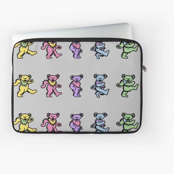 Dancing Bears Pastel Line Laptop Sleeve