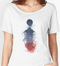 i - Kendrick Lamar Painted Splatter Women's Relaxed Fit T-Shirt
