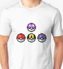 Pokemon Poke Balls Unisex T-Shirt