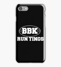 Boy Better Know - Run Tings!! iPhone Case/Skin