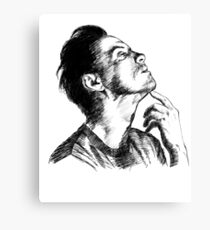 Andrew Scott Scribble Canvas Print